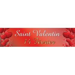 Banderole Saint Valentin