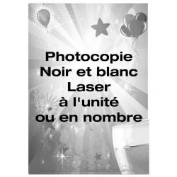 Photocopie Noir et Blanc