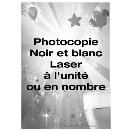Photocopie A4 Noir et Blanc