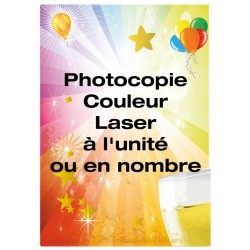 Photocopie couleur