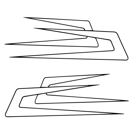 Kit flèche danoise 01