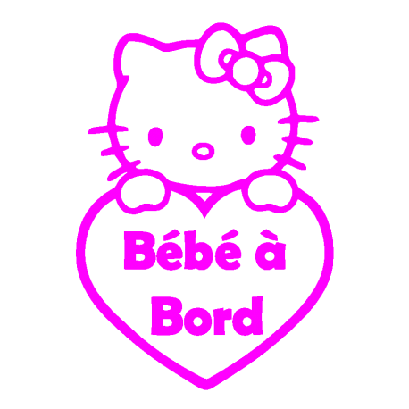 attention-bebe-a-bord-rose