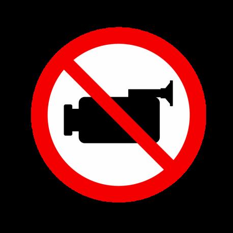 Caméra interdite