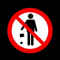 Ne pas jeter des déchets