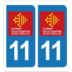 PLAQUE IMMATRICULATION - 11 - AUDE - OCCITANIE
