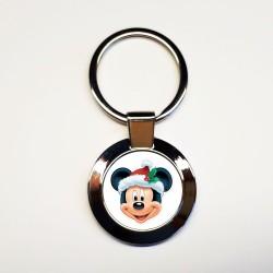 Porte-clés Mickey-Noël