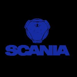 SCANIA logo et texte