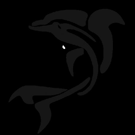 Sticker d'un dauphin